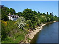 NO5298 : Aboyne - River Dee by Boat Inn by Colin Smith