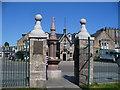 NO5298 : Aboyne - Commemorative Gate by Colin Smith