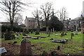 NS5067 : Old Parish Church Graveyard, Renfrew by Billy McCrorie