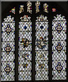 SK8059 : East Stained glass window, St Giles' church, Holme by Julian P Guffogg