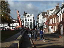 SX9292 : Cathedral Green, Exeter by Chris Allen