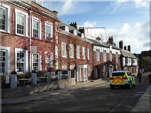 SX9292 : Cathedral Close, Exeter by Chris Allen