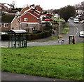 ST3090 : Bus shelter and BT phonebox, Rowan Way, Malpas, Newport by Jaggery