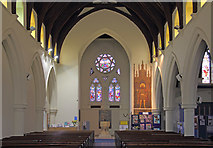 TQ2772 : Holy Trinity, Upper Tooting - West end by John Salmon