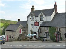 SK2354 : Miners Arms, Brassington by Dave Dunford