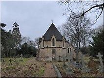 TQ0241 : St Andrew, Grafham: churchyard (e) by Basher Eyre