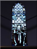TQ0044 : Holy Trinity, Bramley: stained glass window (h) by Basher Eyre
