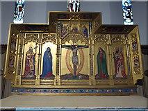 TQ0044 : Inside Holy Trinity, Bramley (V) by Basher Eyre