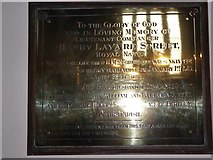 TQ0044 : Holy Trinity, Bramley: memorial (iv) by Basher Eyre