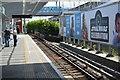 TQ4080 : Custom House DLR Station by N Chadwick