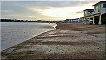 SY6879 : Weymouth Pier Bandstand and Beach at Dusk by Mr Eugene Birchall