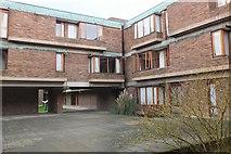 TL4359 : North Court, Churchill College Cambridge by Jim Barton