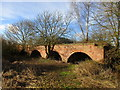 SE7035 : Remains of the railway viaduct at Gunby by Jonathan Thacker
