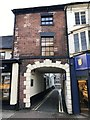 SJ8446 : Newcastle-under-Lyme: entrance to Pepper Street by Jonathan Hutchins