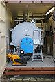 SJ8649 : Middleport Pottery - boiler by Chris Allen