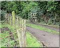 NX4746 : Entrance to Park Cottage by Jon Alexander