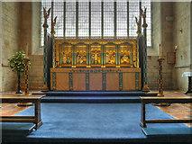 SD3778 : Altar, Cartmel Priory by David Dixon
