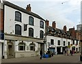 SK7519 : The White Lion and Latham House, Nottingham Street, Melton Mowbray by Alan Murray-Rust