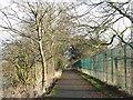 NT2871 : Path to Craigmillar Country Park by M J Richardson
