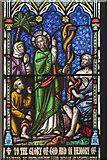 SK7645 : East window detail, St Peter's church, Sibthorpe by J.Hannan-Briggs