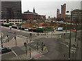 SP0787 : Exchange Circus development under way, Birmingham by Robin Stott