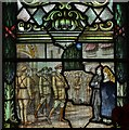 "TF8208 : Swaffham, Church of Ss Peter and Paul: WW1 memorial window, ""Jerusalem"" by Michael Garlick"