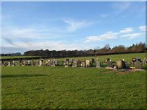 SJ8145 : Keele Cemetery by Jonathan Hutchins
