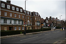 TQ2889 : Blocks of flats on Fortis Green, London N2 by Christopher Hilton