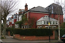 TQ2989 : Large Victorian houses, Methuen Park, Muswell Hill by Christopher Hilton