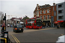 TQ3190 : High Road, Wood Green, London N22 by Christopher Hilton