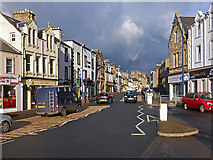 NT4728 : Selkirk Town Centre by Walter Baxter