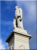 NT4728 : The Sir Walter Scott statue in Selkirk by Walter Baxter