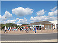 SY0179 : Queue for ice cream, Exmouth  by Stephen Craven