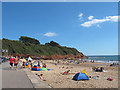 SY0179 : East end of Exmouth beach by Stephen Craven