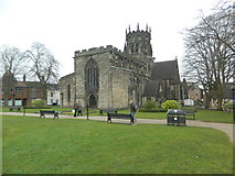 SJ9223 : The Collegiate Church of St Mary, Stafford by John Lord