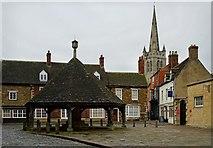 SK8608 : Oakham Butter Cross by John Howcroft