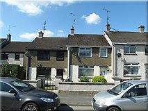 H9639 : Modern terraced housing in Newry Street, Markethill by Eric Jones
