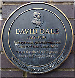 NS5964 : David Dale plaque, Charlotte Street by Thomas Nugent