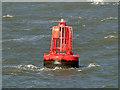 SD2603 : Gamma Navigation Buoy, Liverpool Bay by David Dixon