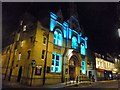TL4458 : The Corn Exchange, Cambridge; e-Luminate 2017 by Richard Humphrey