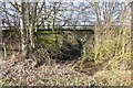 NT8743 : Bridge for bridleway under railway by Russel Wills