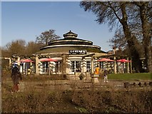 "TQ3005 : ""The Rotunda"" cafe, Preston Park, Brighton by Julian Osley"