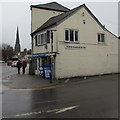 SO5040 : Corner newsagents in Hereford by Jaggery