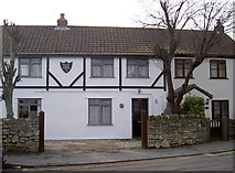 ST6771 : West Hall Lodge by Neil Owen