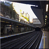 TQ2878 : Sloane Square Underground Station, London, looking east by Robin Stott