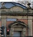SJ8196 : Railway Station by Gerald England