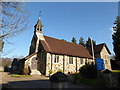 TQ5329 : St Michael & All Angels, Jarvis Brook: mid February 2017 by Basher Eyre