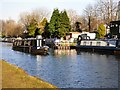 SJ7891 : Narrowboats at Sale by Gerald England