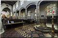 TF6119 : Interior, King's Lynn Minster by J.Hannan-Briggs