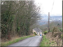 NT1686 : Looking towards Chapel Cottage by M J Richardson